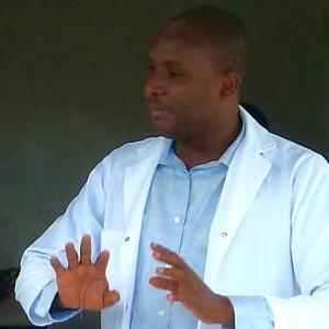 Haitian Doctor Edouard Bordes